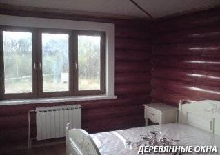 Деревянные окна 2021