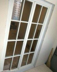 Штульповая балконная дверь