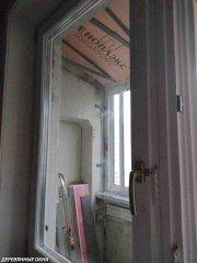 Балконный блок из лиственницы