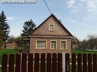 Бюджетные деревянные окна для дачи