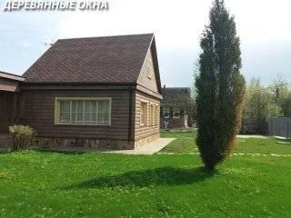Недорогие окна в деревянном доме