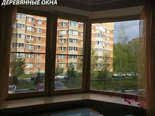 Эркерное окно с подоконником